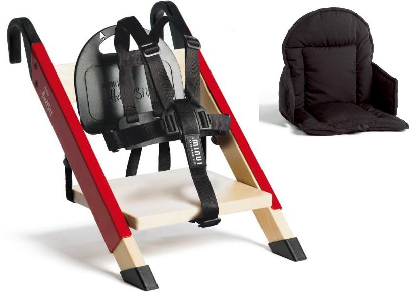 Minui HandySitt with 5 point Harness and baby cushion