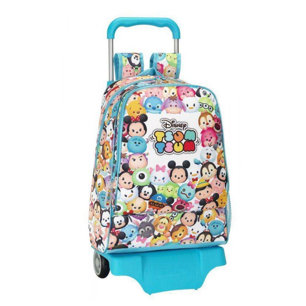 0455b77f69 Σχολικά    Σχολικές Τσάντες    Disney Τσάντα Τρόλεϊ μεγάλη - Tsum tsum