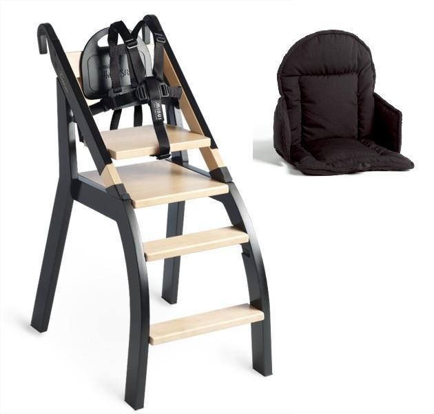 Minui High Chair with 5 point harness